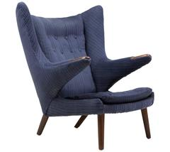 Early Hans J. Wegner Papa Bear Chair for AP Stolen