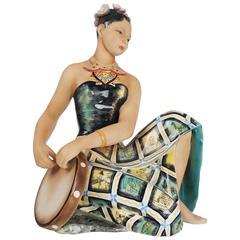 'Penida' Figurine from the 1940s by Le Bertetti