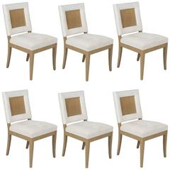 Dining Chairs by James Mont, Set of Six