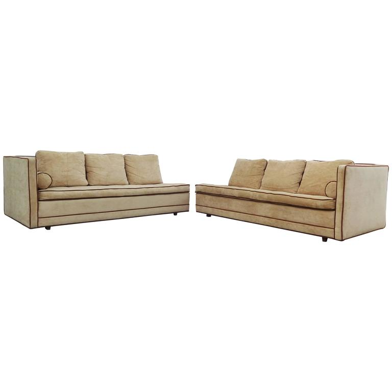 Stunning Two-Piece Harvey Probber Sectional Sofa