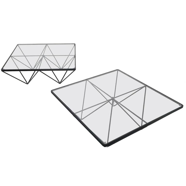 Pair of Coffee Tables by Paolo Piva for B & B Italia, Italy, 1980