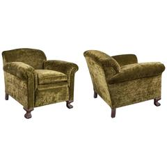 Pair of 1940s French Armchairs