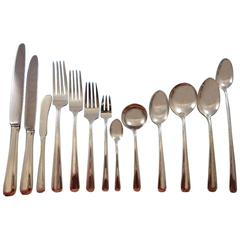 Aristocrat by Towle Sterling Silver Flatware Set of 8 Service 119 Pieces Dinner