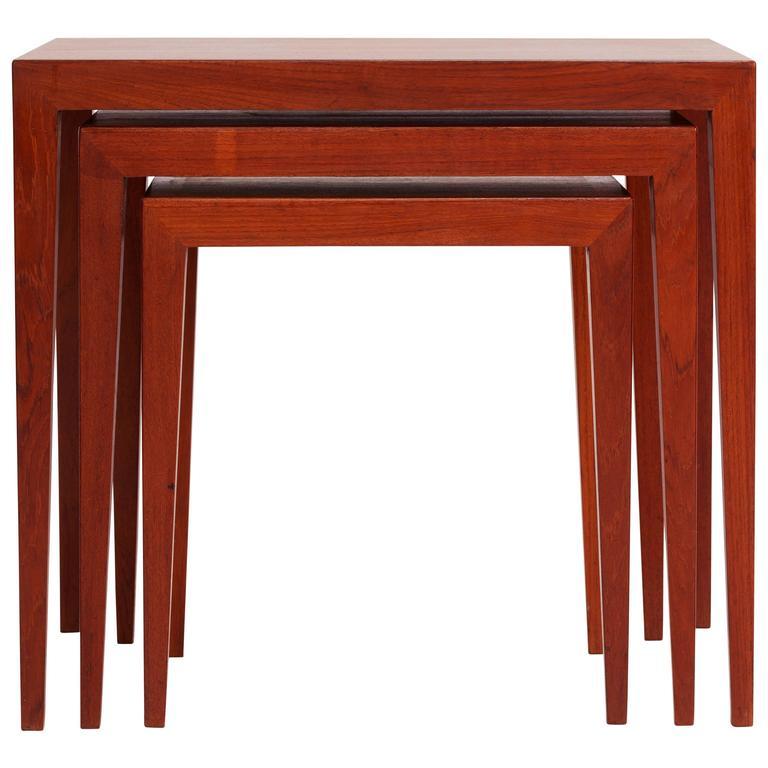 Nesting Tables by Severin Hansen