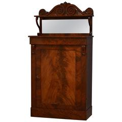 William IV Mahogany Side Cabinet