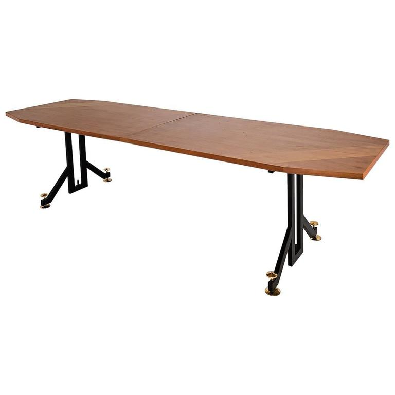 Anonymous, Extendable Dining Table, Italy, 1950