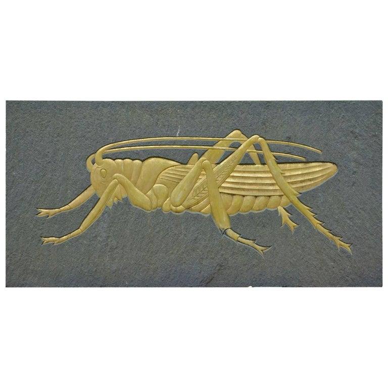 Grasshopper Plaque 1