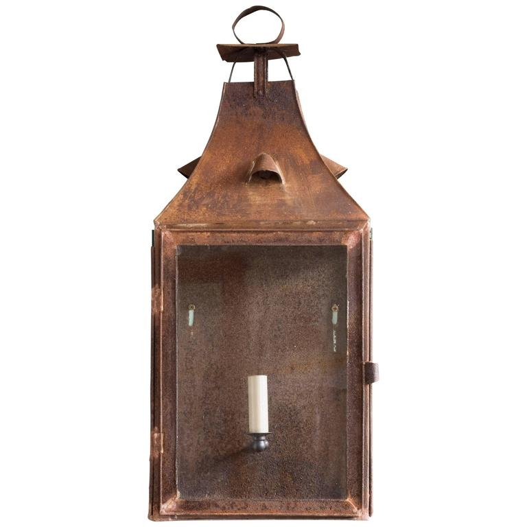 French 19th Century Wall Lantern