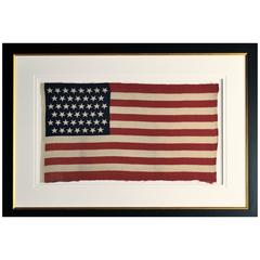 45 Star Flag, Antique, circa 1896