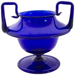 Murano Glass Vase in the Style of Napoleone Martinuzzi for Venini, Italy, 1920s