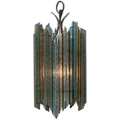 Brutalist Poliarte style Pendant Lamp