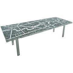 Baghdad Table by Edra in Extruded Aluminium