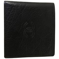 Vintage Brand New Chanel Mens Wallet Billfold in Its Original Box