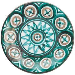 Robert Picault Vallauris Art Pottery Plate, 1950s