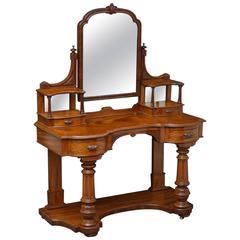 Victorian Mahogany Duchess Table