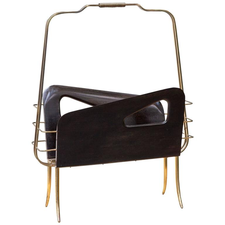 Gio Ponti Style Magazine Rack  1