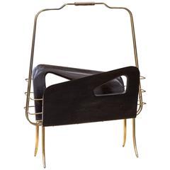 Gio Ponti Style Magazine Rack