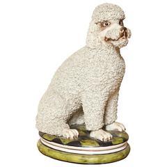 Mid-Century Italian Ceramic Dog Statue