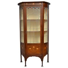 Art Nouveau Display Cabinet