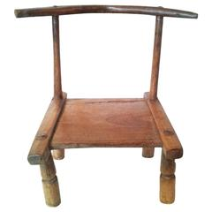 Baule Chair from Ivory Coast