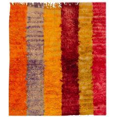 Simply Beautiful Vintage Turkish Tulu Rug