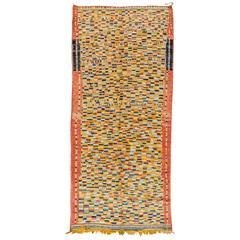 Breathtaking Vintage Moroccan Rug