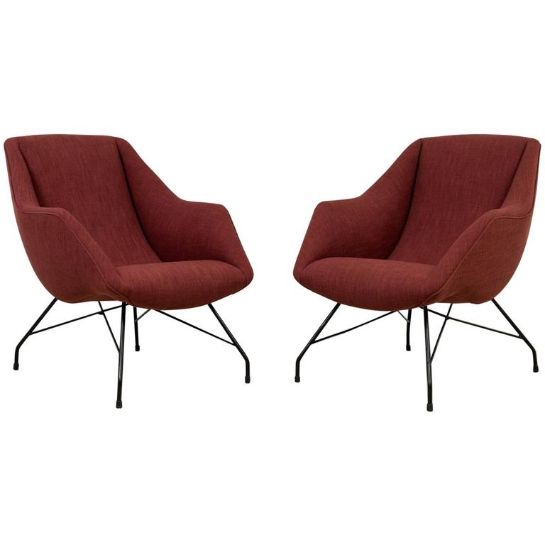 Vintage 1950s Armchairs by Martin Eisler 1