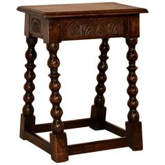 18th Century Tall Joynt Stool