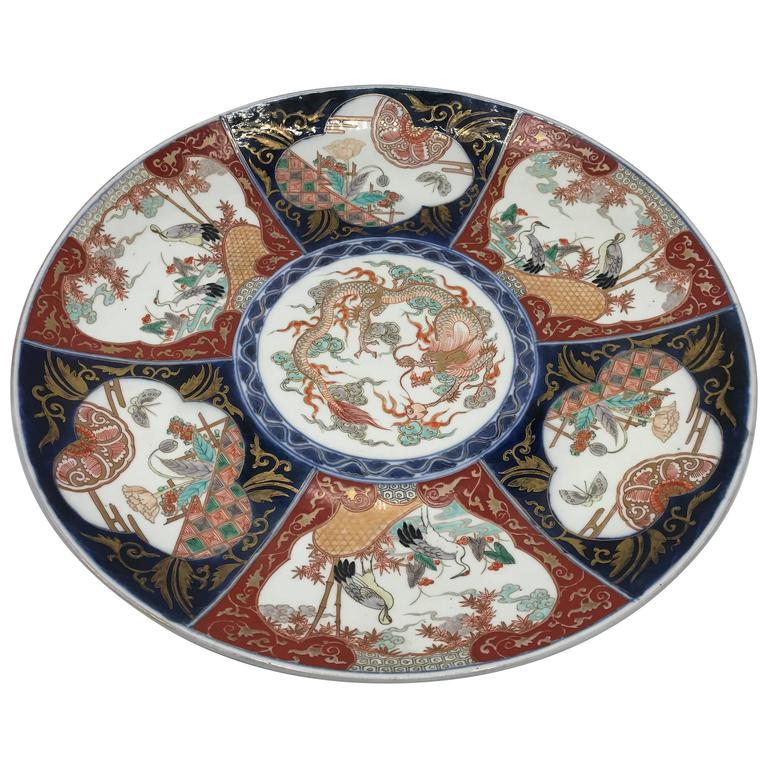 Dating japanese imari charger plate