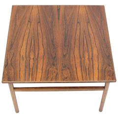 Mid-Century Rosewood Cocktail or Side Table
