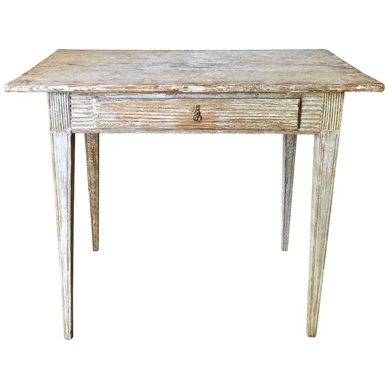 Period swedish gustavian side table for sale at 1stdibs for Oka gustavian side table