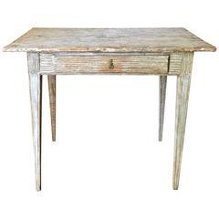 Period Swedish Gustavian Side Table