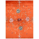 Contemporary Floral Rug by Carini