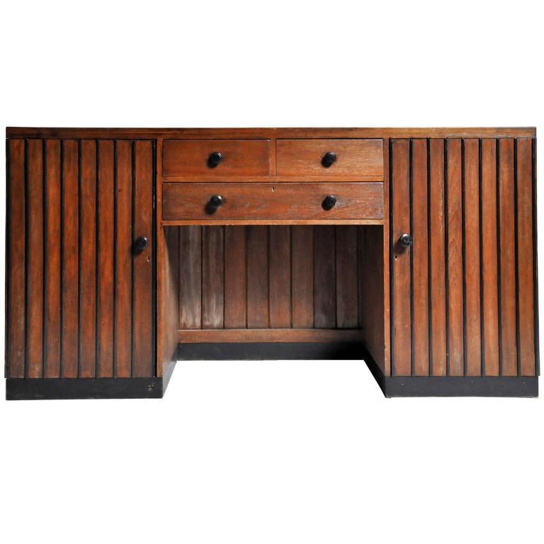British colonial art deco sideboard for sale at 1stdibs - Deko sideboard ...