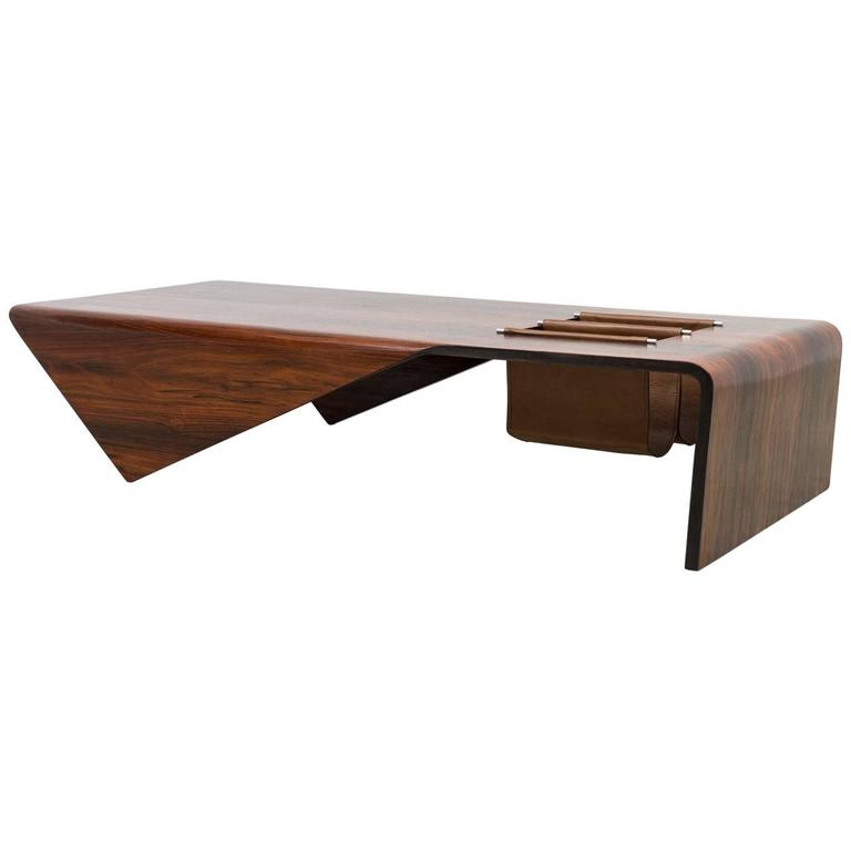 "Vintage ""Andorinha"" Coffee Table by Jorge Zalszupin"