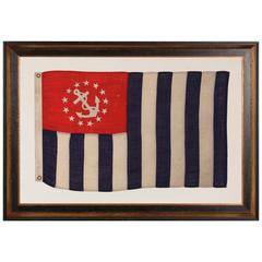Power Squadrons Ensign Made By Annin in New York City, 1914-1920