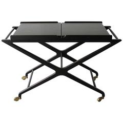 Cesare Lacca Expandable Bar Cart
