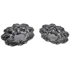 Pair of Reed & Barton Francis I Sterling Silver Nut Dishes