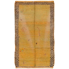 Mid-20th Century Vintage Moroccan Rug