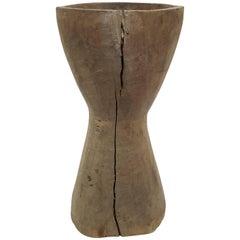 Antique Rice Mortar, Medium