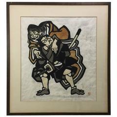 Yoshitoshi Mori Limited Edition Japanese Stencil Print