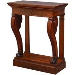 William IV Mahogany Console Table