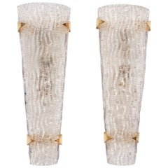 Pair of Murano Wall Lights or Sconces