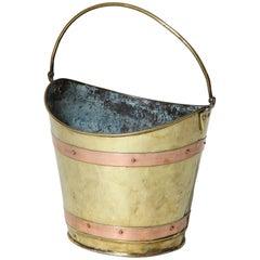 19th Century Boat Shaped Bucket