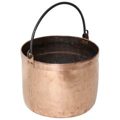 19th Century Copper Bucket