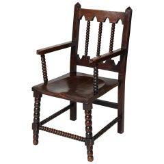 Stunning Bobbin Turned Armchair