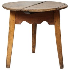 Great Welsh Sycamore Cricket Table