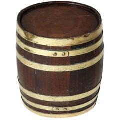 Ship Captain's Rum Keg