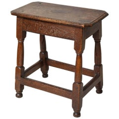 Early 18th Century Joined Table