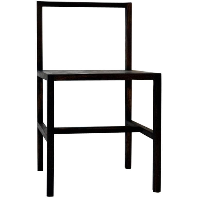 Westmoreland Dining Chair in Solid Hardwood, Contemporary Modern